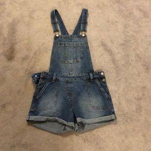 ASOS denim overalls